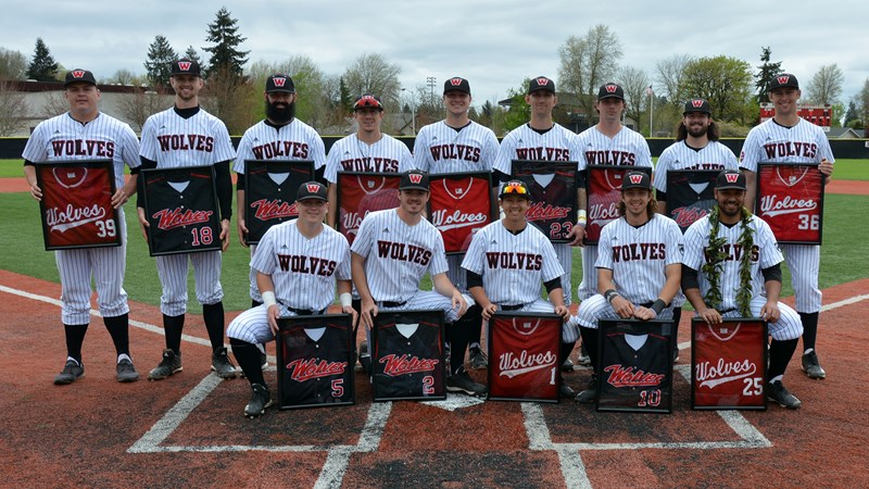 Western Oregon baseball closing in on first place with sweep of CWU - Western Oregon University Athletics