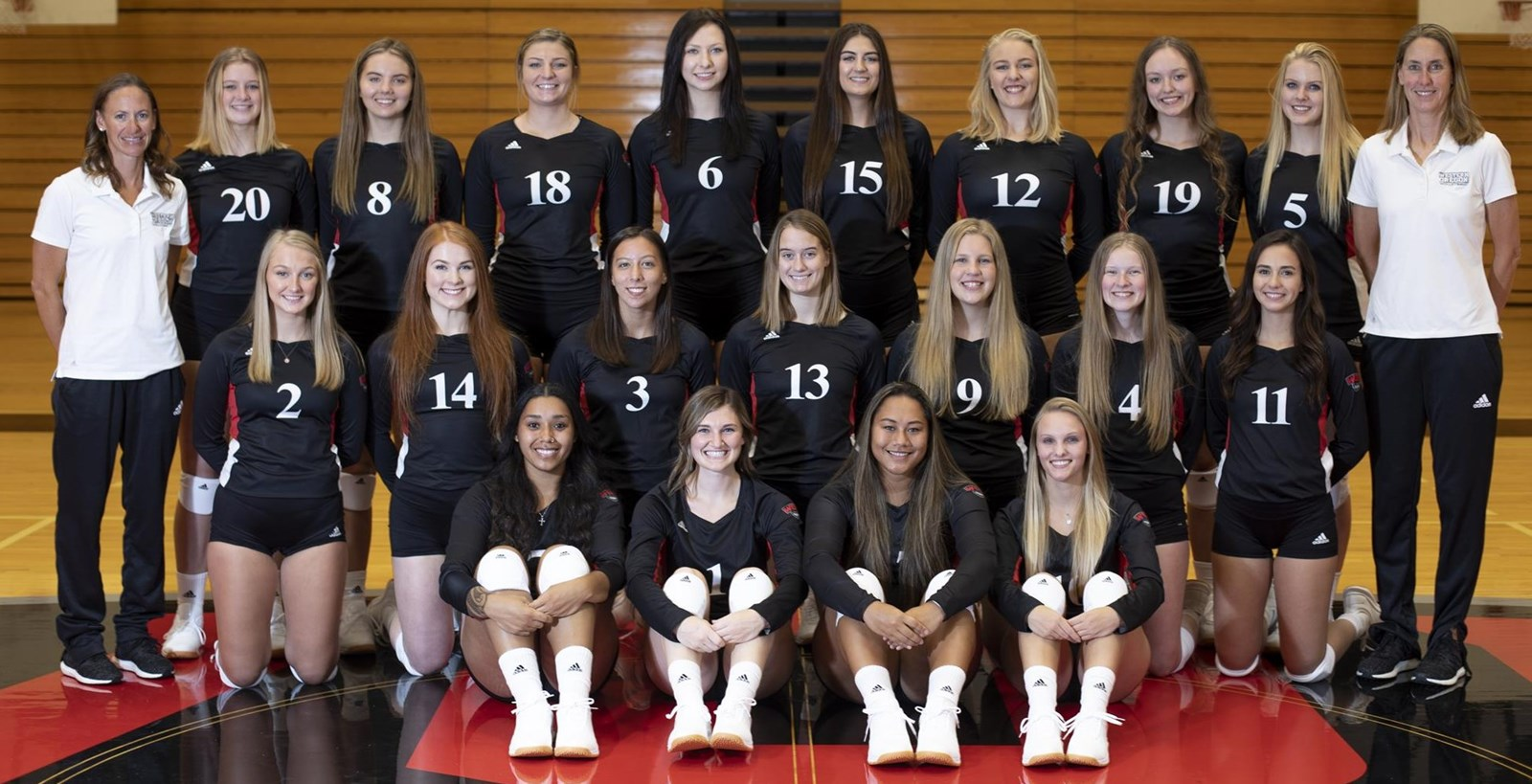 2019 Volleyball Roster Western Oregon University Athletics