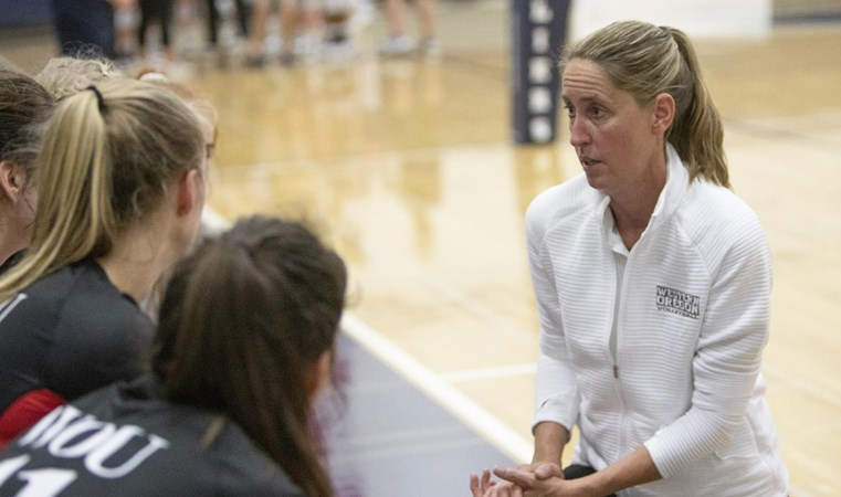 Volleyball Travels to Portland to Open GNAC Play Against Concordia on Tuesday